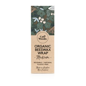 Organic Beeswax Wrap (Single) - Green Forest