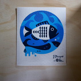Snapper Dish Cloth - supports Sustainable Coastlines