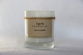 Pure Lavender Essential Oil Candle