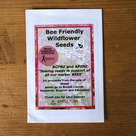 Bee Friendly Pink Wildflower Seed Mix (2g)