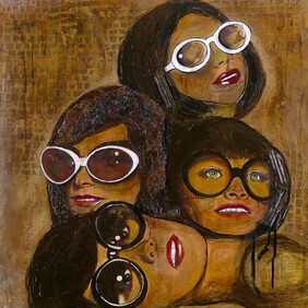 Print Limited Edition  - Gaggle of Goggles