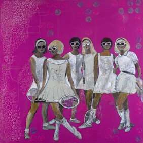 Print Limited Edition - Tennis Babes