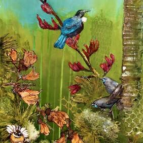 Original Art Work - Birdflap