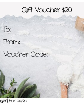 In the Mix Bakery $20 Gift Voucher