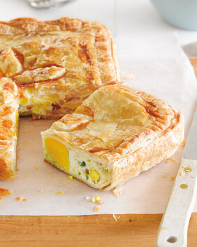 Bacon & Egg Pie for two