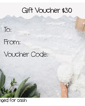In the Mix Bakery $30 Gift Voucher