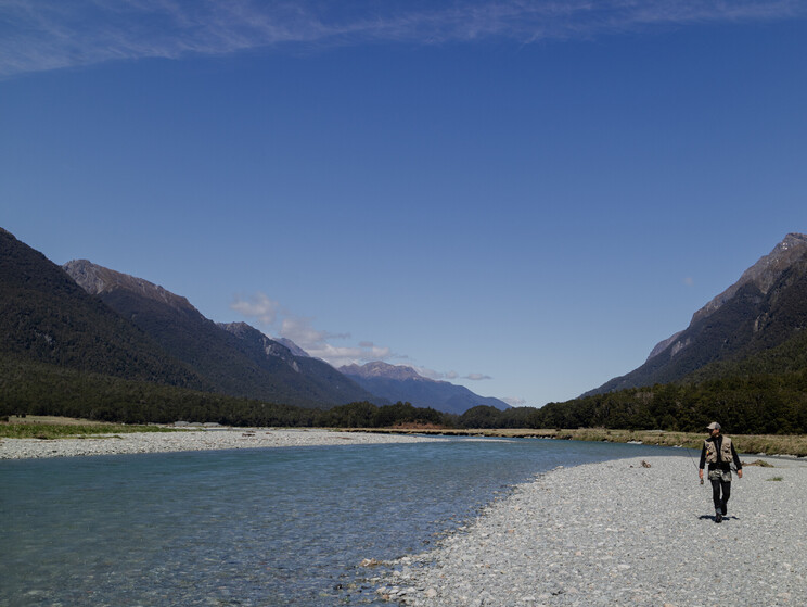 Backcountry bliss, on a road trip around the south of New Zealand.  Todd Adolph