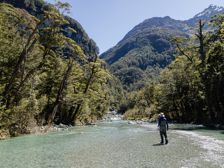 Queenstown fly fishing adventures Todd Adolph