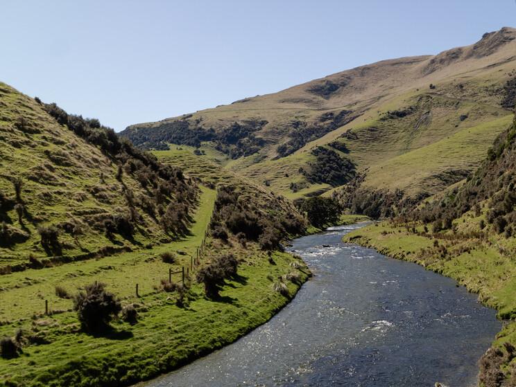 Otago fly fishing heaven, New Zealand.  Todd Adolph