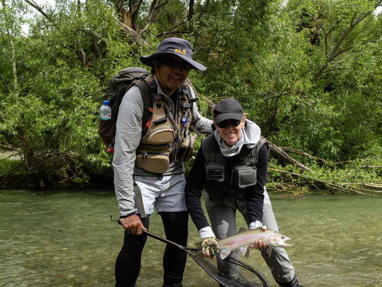 New Zealand Fly fishing Todd Adolph