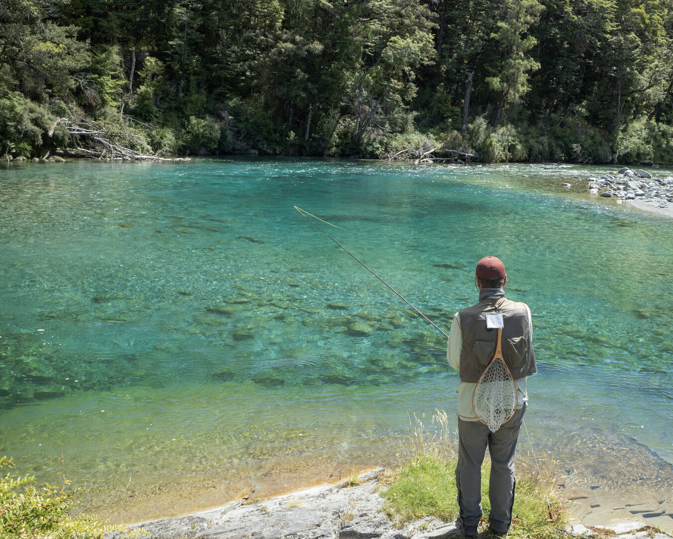 Pool of dreams that's home to brown and rainbow trout Todd Adolph