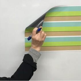 ***New*** Whiteboard handwriting lines magnet