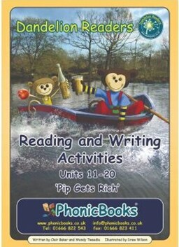 Reading and Writing Activities – Set 1 Units 11-20