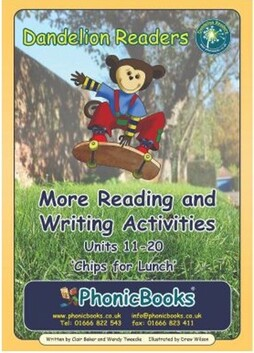 Reading and Writing Activities – Set 2 Units 11-20