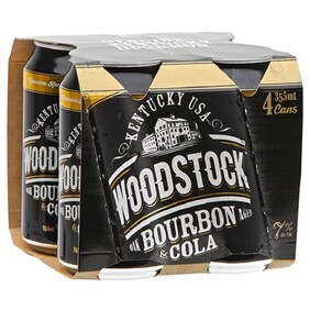 Woodstock 7% 4pk Cans