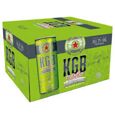 KGB  LIME GREEN 12 PK CANS