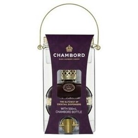 Chambord and Cocktail Dispenser Gift Pack Liqueur 500mL