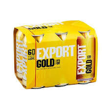 Export Gold 6 Pk Cans
