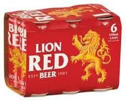 Lion Red 6 Pk Cans