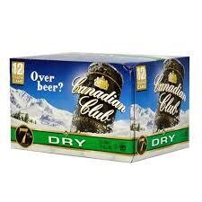 Canadian Club 7% 12 Pk Cans