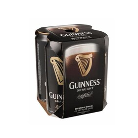 Guinness 4pk Cans