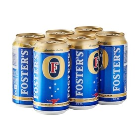 Foster 6 Pk Cans