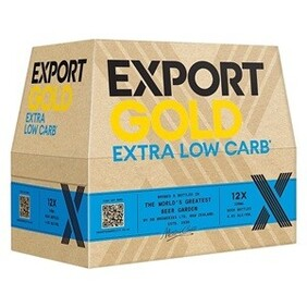 EXPORT GOLD EXTRA LOW CARB LAGER 12PK BOTTLES 330ML