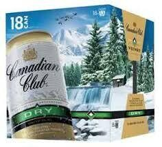 Canadian Club 18 Pk Cans