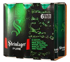 steinlager pure 6pk cans