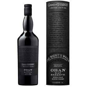 OBAN BAY RESERVE GAME OF THRONES LIMITED EDITION SCOTCH WHISKY 700ML