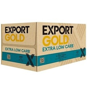 EXPORT GOLD EXTRA LOW CARB LAGER 24PK BOTTLES 330ML