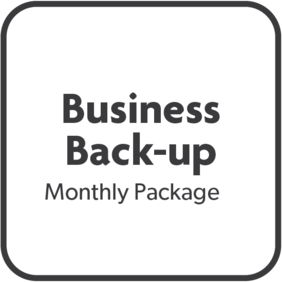 Monthly Business Back-up Package