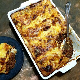 Family Size Beef Lasagne