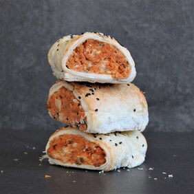 Chickpea and Cheese Veg Rolls