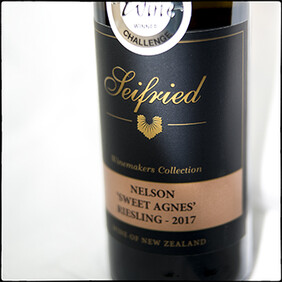 Seifried 'Winemakers Collection' Sweet Agnes Riesling 2017 375ml