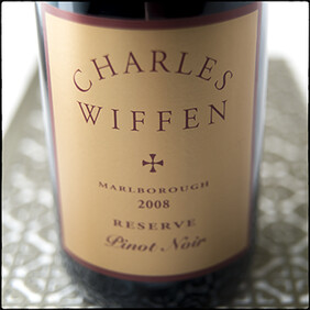 Charles Wiffen Reserve Pinot Noir 2008