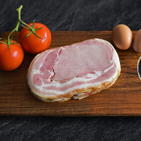 E02 - Bacon Middle Rindless 500g
