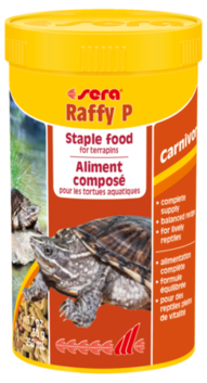 Sera Raffy P Stable food for Terrapins 50g