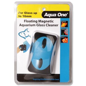 Aqua One Floating Magnet Cleaner (XL) For Up 16mm Glass