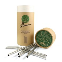 Florence Stainless Steel Straws - Individual