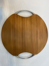 Liddledale Round Cheese Board With Handles