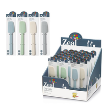 Zeal Cupcake Silicone Spatula - Assorted Colours