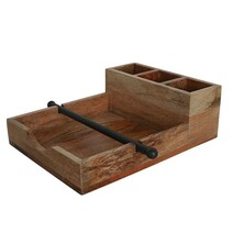French Country Ploughmans Serviette & Condiment Holder