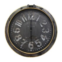 French Country Port Hole Wall Clock