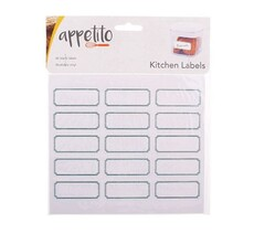 Appetito Blank Labels