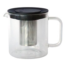 Di Antonio Teapot Glass with Stainless Steel Infuser