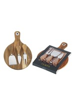 Ladelle Fromagerie Round 4 pc Cheese Set