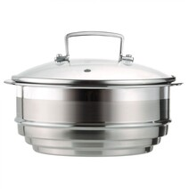 Le Creuset Classic Stainless Steel Multi Steamer 3 Ply