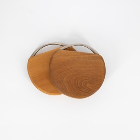Small Herb Board with Silver Handle 140x30