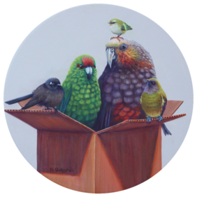 Just a box of birds / Large Print